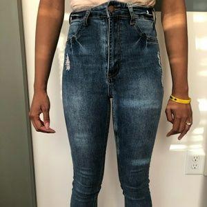Denim High waist jeans